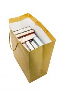 Tas met boeken