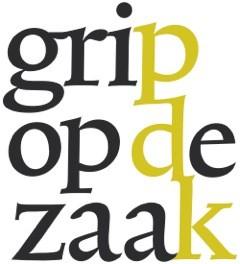 Logo grip op de zaak